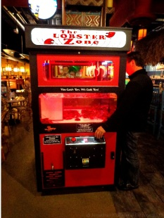 Las Vegas- The Lobster Zone Vending Machine