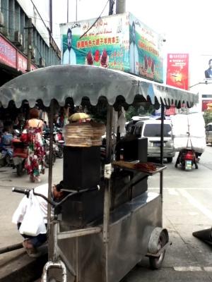 Chengdu- Xinjiang Kebab Vendor, 07.2012