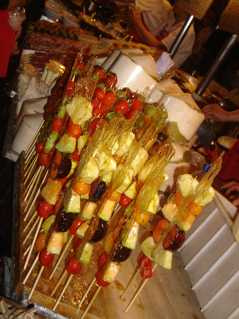 Beijing - Sugared Fruit Skewers