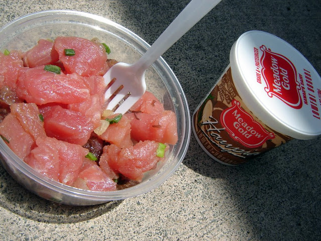 Honolulu - Poke and Haupia Yoghurt